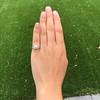 1.47ctw Old European Cut Diamond, Orange Blossom Solitaire 10