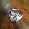 1.47ct Transitional Cut Diamond Art Deco Frame Ring 27