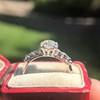 1.48ctw Antique Old European Cut Diamond Ring 11