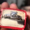 1.48ctw Antique Old European Cut Diamond Ring 8