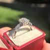 1.48ctw Antique Old European Cut Diamond Ring 7