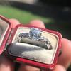 1.48ctw Antique Old European Cut Diamond Ring 10