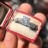1.48ctw Antique Old European Cut Diamond Ring 14