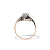 1.50ctw Fancy Victorian Trilogy Old Mine Cut Ring 3