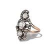 1.50ctw Fancy Victorian Trilogy Old Mine Cut Ring 0