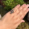 1.50ctw Fancy Victorian Trilogy Old Mine Cut Ring 14