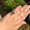 1.50ctw Fancy Victorian Trilogy Old Mine Cut Ring 13