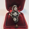 1.50ctw Fancy Victorian Trilogy Old Mine Cut Ring 31