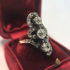 1.50ctw Fancy Victorian Trilogy Old Mine Cut Ring 33