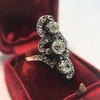 1.50ctw Fancy Victorian Trilogy Old Mine Cut Ring 25