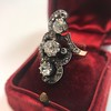 1.50ctw Fancy Victorian Trilogy Old Mine Cut Ring 32