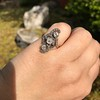 1.50ctw Fancy Victorian Trilogy Old Mine Cut Ring 27