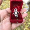 1.50ctw Fancy Victorian Trilogy Old Mine Cut Ring 15