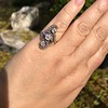 1.50ctw Fancy Victorian Trilogy Old Mine Cut Ring 10