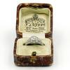 1.56ctw Art Deco Old European Cut Diamond Bezel Ring, GIA E SI1 1