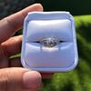 1.56ctw Art Deco Old European Cut Diamond Bezel Ring, GIA E SI1 9