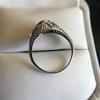 1.56ctw Art Deco Old European Cut Diamond Bezel Ring, GIA E SI1 36
