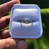 1.56ctw Art Deco Old European Cut Diamond Bezel Ring, GIA E SI1 16