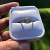 1.56ctw Art Deco Old European Cut Diamond Bezel Ring, GIA E SI1 18