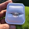 1.56ctw Art Deco Old European Cut Diamond Bezel Ring, GIA E SI1 20