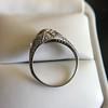 1.56ctw Art Deco Old European Cut Diamond Bezel Ring, GIA E SI1 8