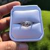 1.56ctw Art Deco Old European Cut Diamond Bezel Ring, GIA E SI1 21