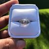 1.56ctw Art Deco Old European Cut Diamond Bezel Ring, GIA E SI1 15