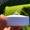 1.56ctw Art Deco Old European Cut Diamond Bezel Ring, GIA E SI1 13