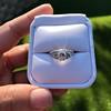 1.56ctw Art Deco Old European Cut Diamond Bezel Ring, GIA E SI1 11