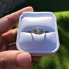 1.56ctw Art Deco Old European Cut Diamond Bezel Ring, GIA E SI1 10