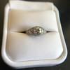 1.56ctw Art Deco Old European Cut Diamond Bezel Ring, GIA E SI1 35
