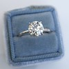 1.58ct Old European Cut Diamond Solitaire, EGL K VS2 7