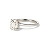 1.58ct Old European Cut Diamond Solitaire, EGL K VS2 1