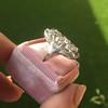 1.65ctw Art Deco Old Cut European Cut Diamond Dinner Ring 12