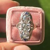 1.65ctw Art Deco Old Cut European Cut Diamond Dinner Ring 8
