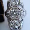 1.65ctw Art Deco Old Cut European Cut Diamond Dinner Ring 23
