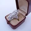 1.65ctw Art Deco Old Cut European Cut Diamond Dinner Ring 26