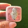 1.65ctw Art Deco Old Cut European Cut Diamond Dinner Ring 11