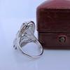 1.65ctw Art Deco Old Cut European Cut Diamond Dinner Ring 25