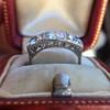 1.70ctw Old European Cut Diamond Art Deco 3-Stone Ring, GIA F 20