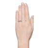 1.70ctw Old European Cut Diamond Art Deco 3-Stone Ring, GIA F 3
