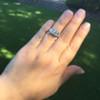 1.70ctw Old European Cut Diamond Art Deco 3-Stone Ring, GIA F 29