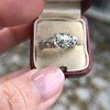 1.71ct Old Mine Cut Diamond Solitaire GIA K SI2 2