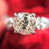 1.71ct Old Mine Cut Diamond Solitaire GIA K SI2 0