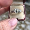 1.71ct Old Mine Cut Diamond Solitaire GIA K SI2 3