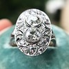1.75ctw Edwardian Toi et Moi Old European Cut Diamond Ring  16