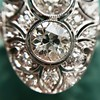 1.75ctw Edwardian Toi et Moi Old European Cut Diamond Ring  26