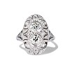 1.75ctw Edwardian Toi et Moi Old European Cut Diamond Ring  0