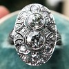 1.75ctw Edwardian Toi et Moi Old European Cut Diamond Ring  17