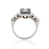 1.80ctw Art Deco French Cut Diamond Twin Stone Ring 2